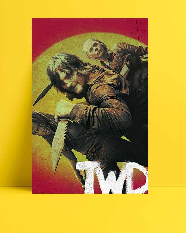 The Walking Dead - 2 afişi
