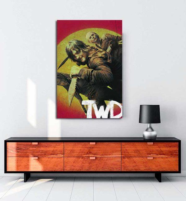 The Walking Dead - 2 kanvas tablo