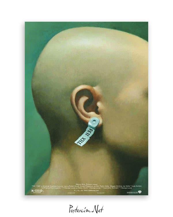 THX 1138 afiş