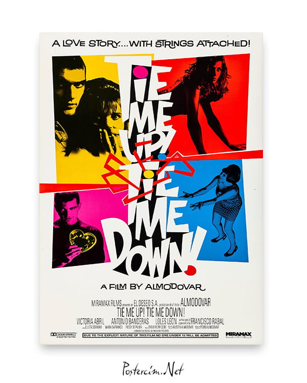 Tie Me Up! Tie Me Down! afiş