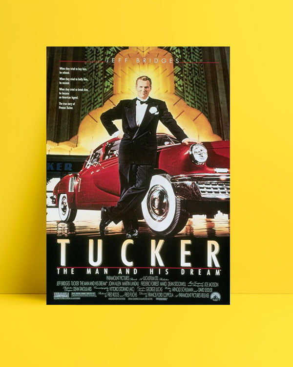 Tucker: The Man and His Dream poster