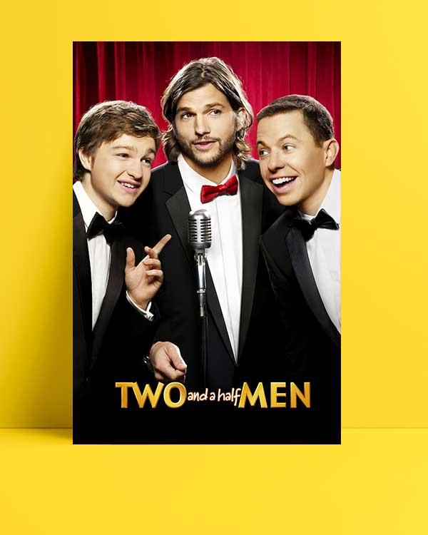 Two and a Half Men afişi