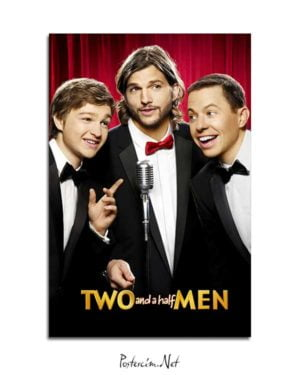 Two and a Half Men posteri
