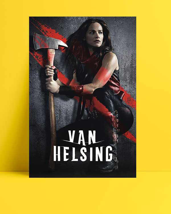 Van Helsing afişi