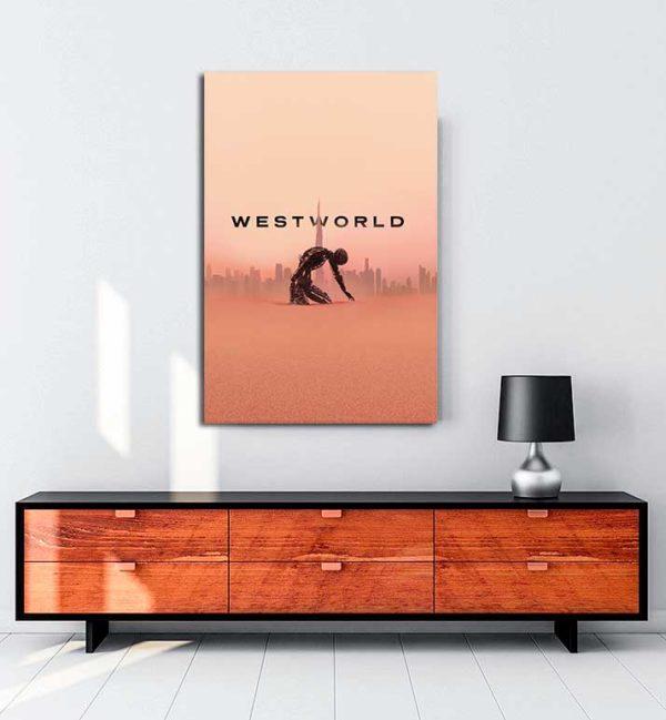 Westworld kanvas tablo