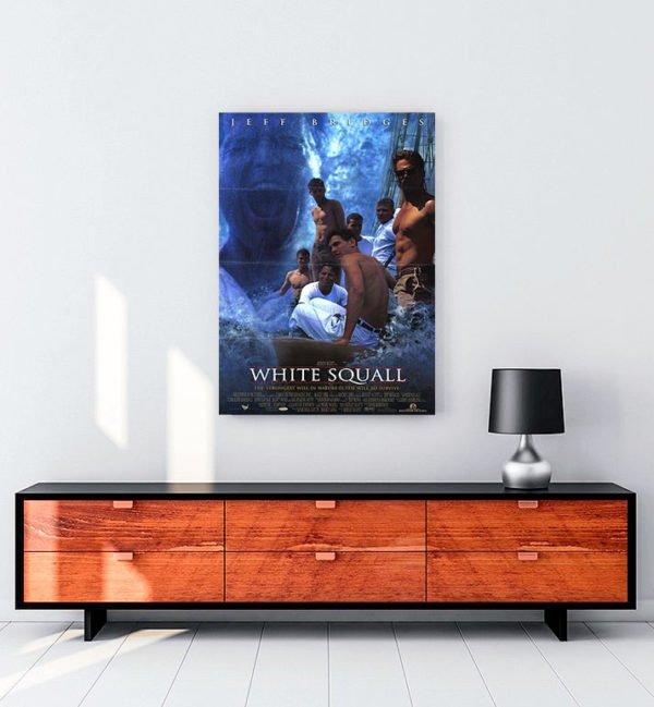 White Squall kanvas tablo