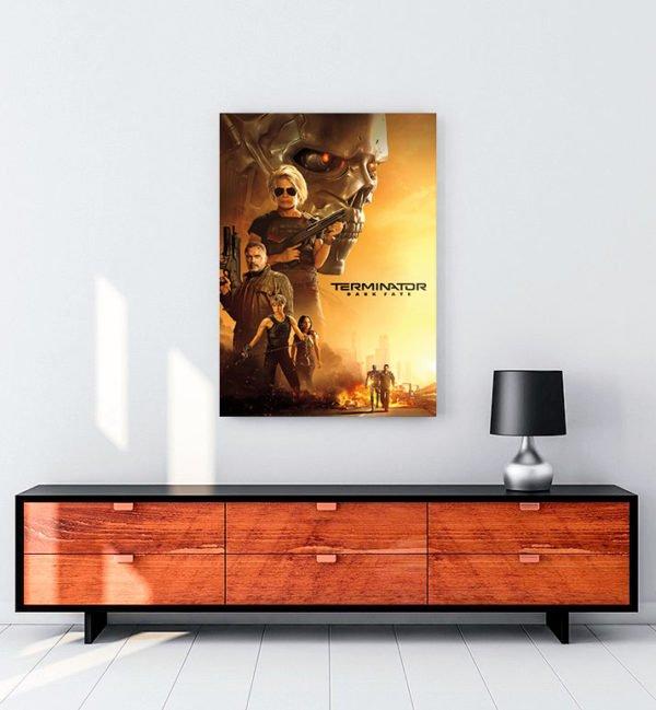 Terminator Dark Fate kanvas tablo