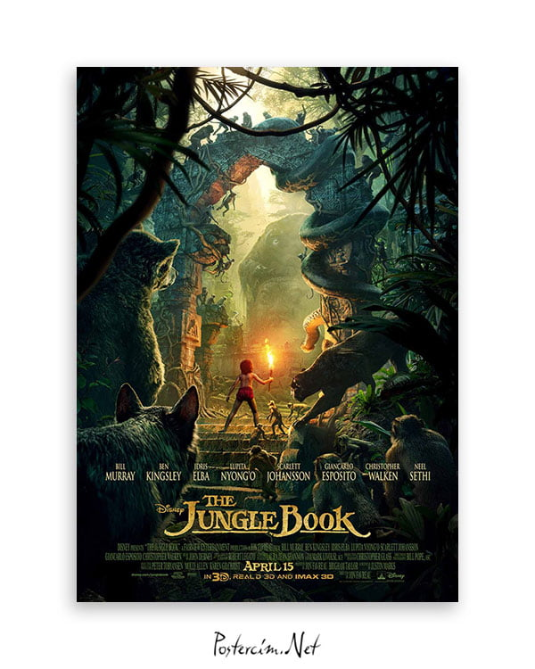 The Jungle Book afiş