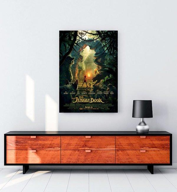 The Jungle Book kanvas tablo