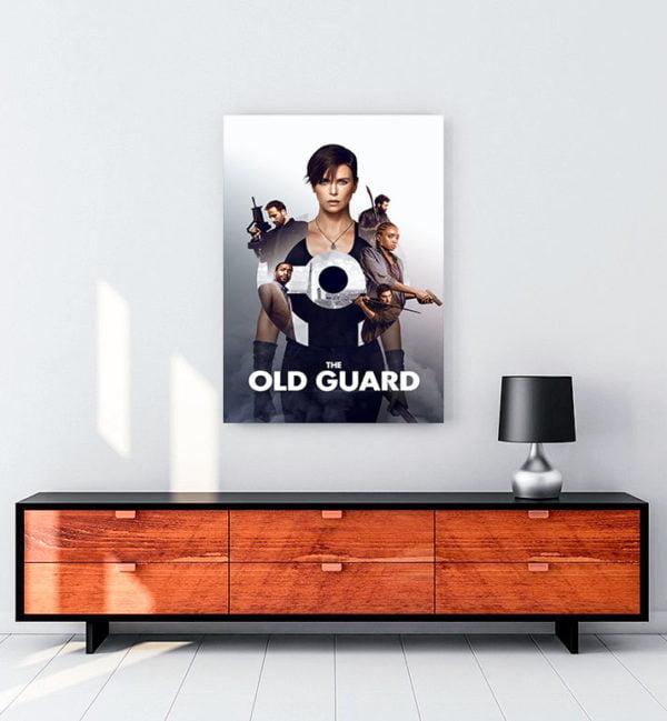 The Old Guard kanvas tablo