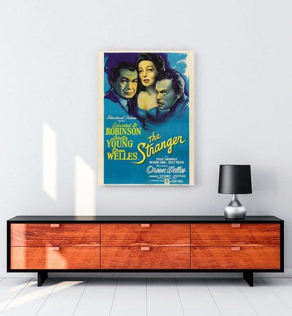 The Stranger kanvas tablo