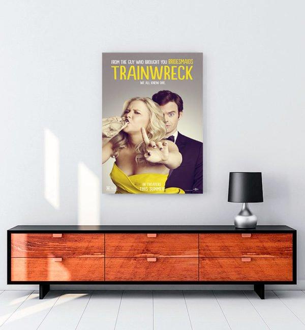 Trainwreck kanvas tablo
