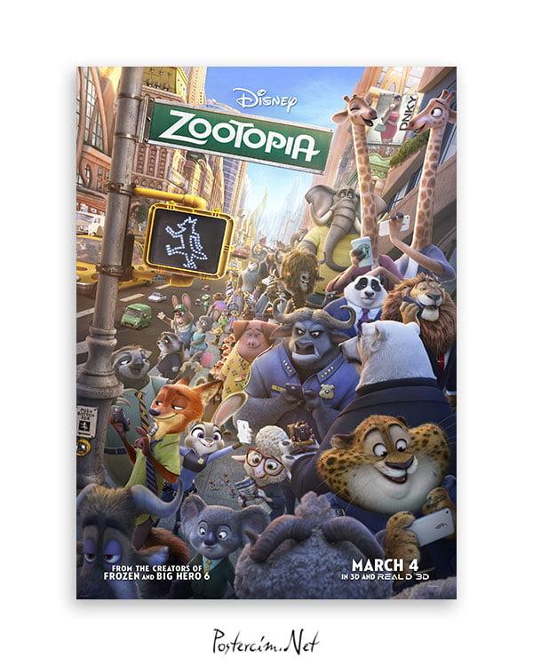 Zootopia afiş