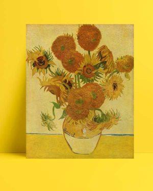 Vincent van Gogh - Bir Vazoda On Beş Çiçek afişi