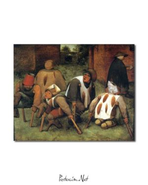 Pieter Brueghel - Dilenciler posteri