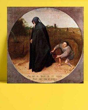 Pieter Brueghel - İnsanları Sevmeyen afişi