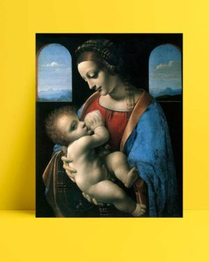 Leonardo Da Vinci - Meryem Ana ve Çocuk afişi