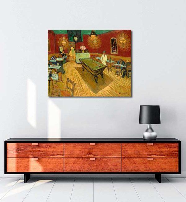 Vincent van Gogh - Gece Kahvesi kanvas tablo