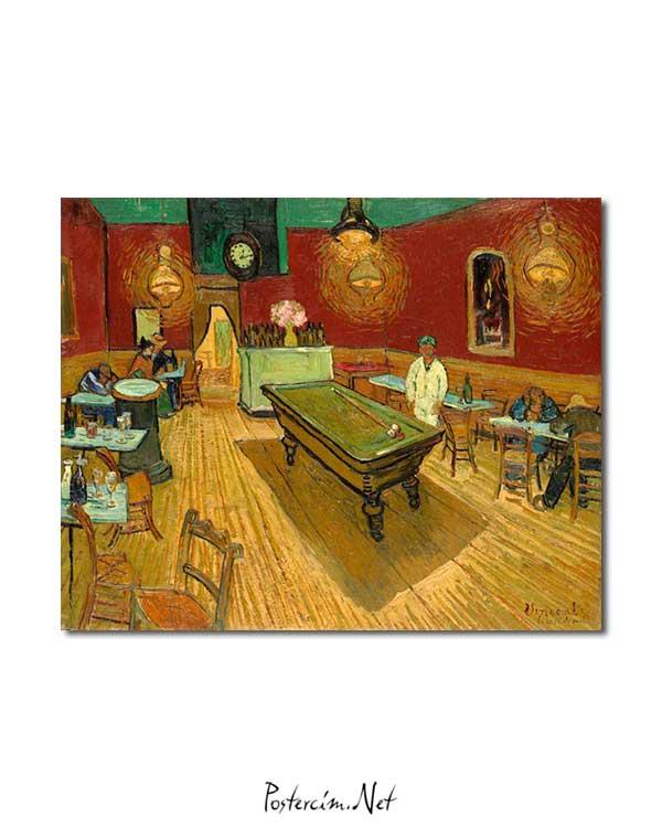 Vincent van Gogh - Gece Kahvesi posteri