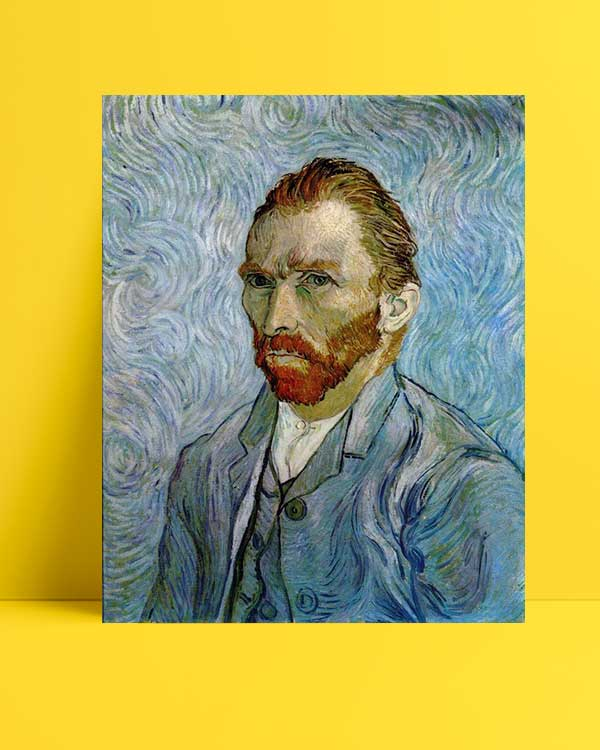 Vincent van Gogh - Otoportre afişi