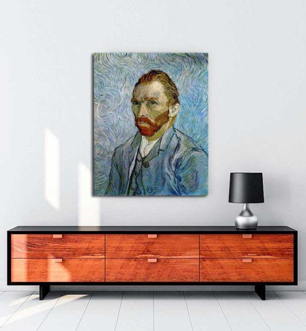 Vincent van Gogh - Otoportre kanvas tablo
