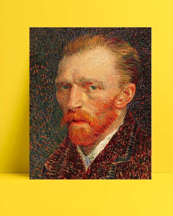 Vincent van Gogh - Otoportre 2 afişi