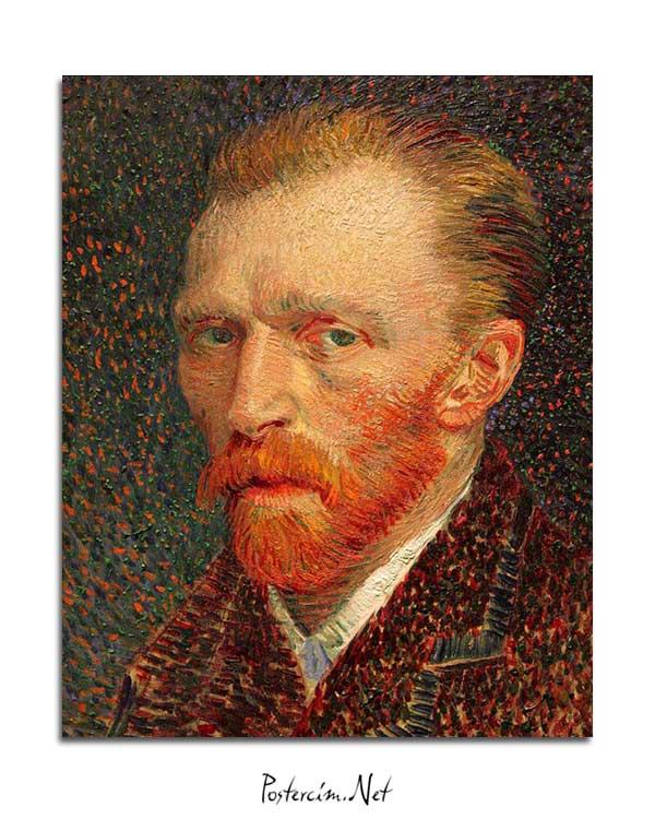 Vincent van Gogh - Otoportre 2 posteri