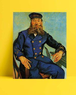 Vincent van Gogh - Postacı Joseph Roulin'in Portresi afişi