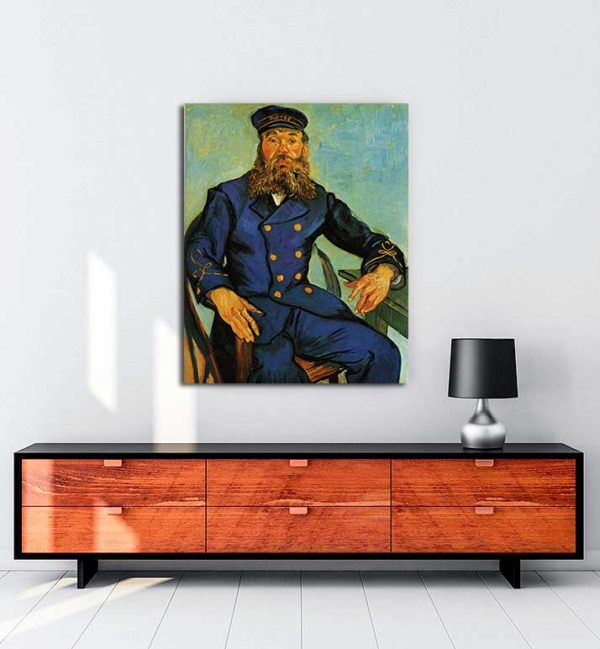 Vincent van Gogh - Postacı Joseph Roulin'in Portresi kanvas tablo