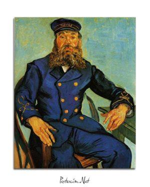 Vincent van Gogh - Postacı Joseph Roulin'in Portresi posteri