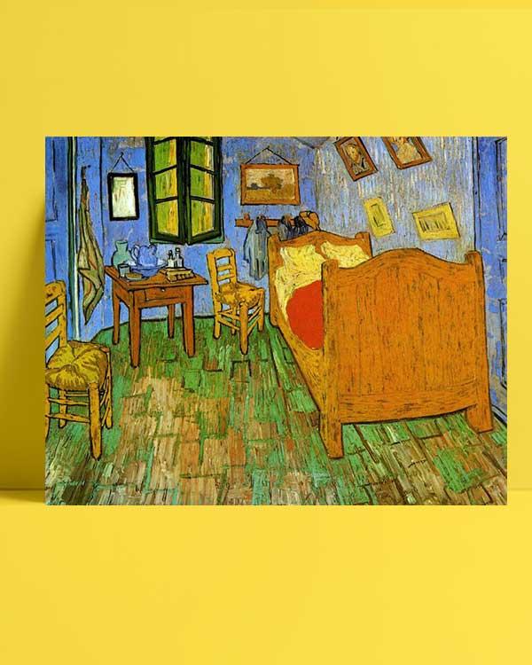 Vincent van Gogh - Gogh'un Arles'teki Yatak Odası afişi
