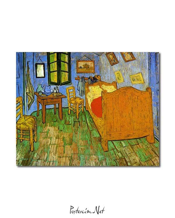 Vincent van Gogh - Gogh'un Arles'teki Yatak Odası posteri