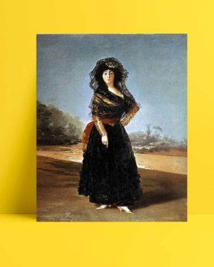 Francisco Goya - Alba Düşesi'nin Portresi afişi
