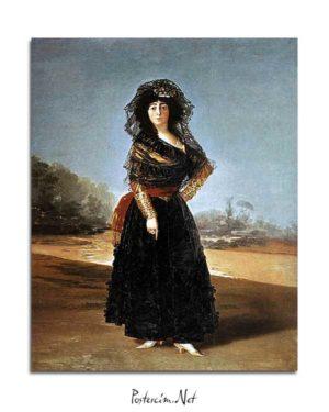 Francisco Goya - Alba Düşesi'nin Portresi posteri