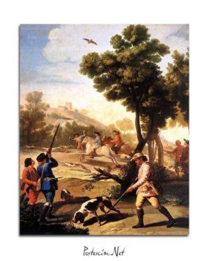 Francisco Goya - Bıldırcın Avı posteri
