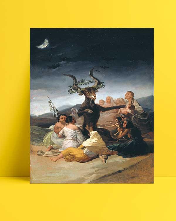 Francisco Goya - Cadı Ayini afişi