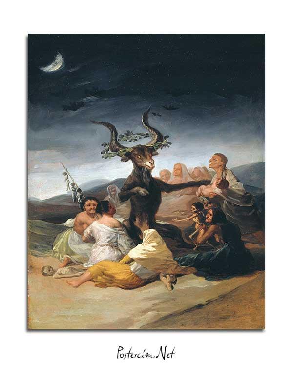 Francisco Goya - Cadı Ayini posteri