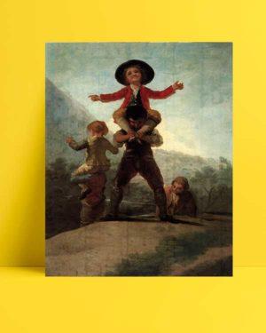 Francisco Goya -Cücelerin Oyunu afişi