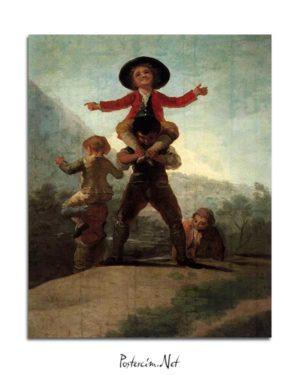 Francisco Goya -Cücelerin Oyunu posteri