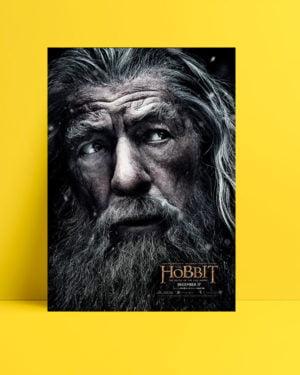 Hobbit: Beş Ordunun Savaşı poster