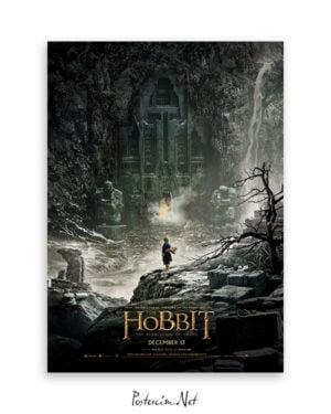 Hobbit: Smaug'un Çorak Toprakları afiş