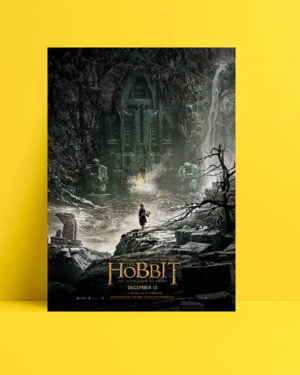 Hobbit: Smaug'un Çorak Toprakları poster