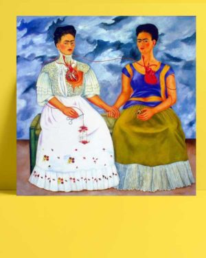 Frida Kahlo - İki Frida afişi