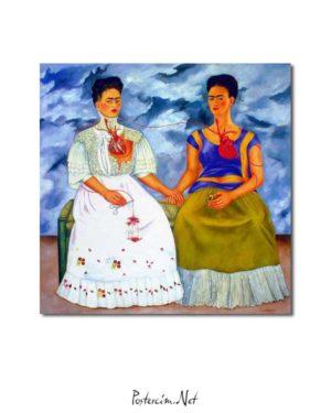 Frida Kahlo - İki Frida posteri
