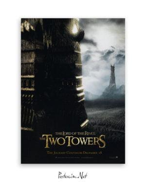 Yüzüklerin Efendisi: İki Kule afiş