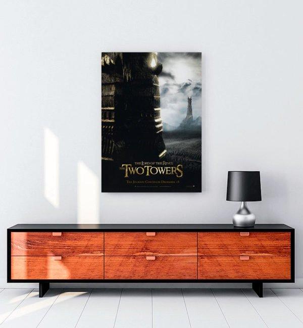 Yüzüklerin Efendisi: İki Kule kanvas tablo