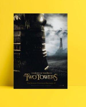Yüzüklerin Efendisi: İki Kule poster
