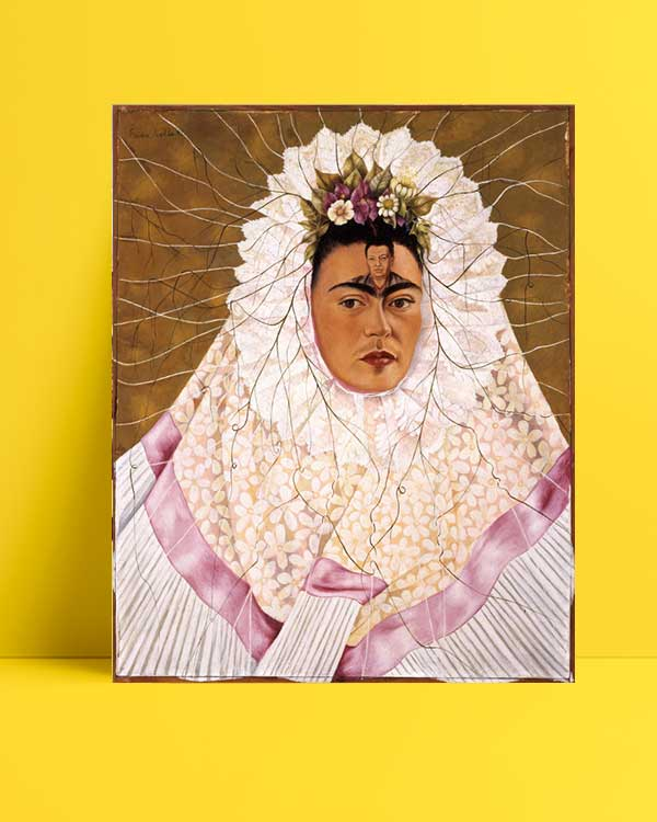 Frida Kahlo - Diego'yu düşünmek afişi