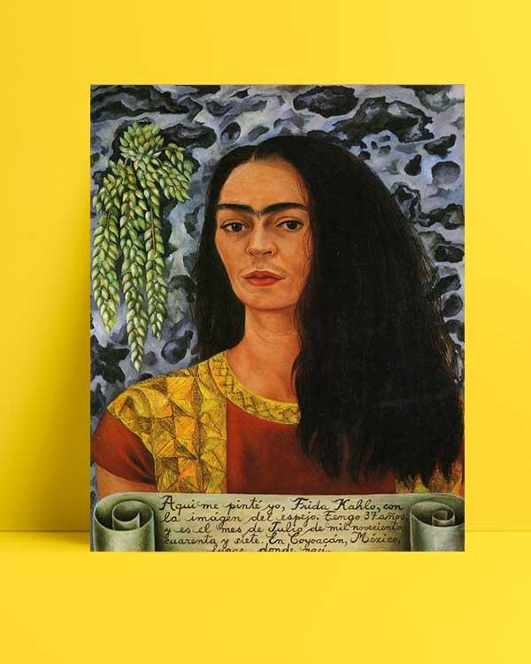 Frida Kahlo - Portre afişi