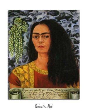 Frida Kahlo - Portre posteri